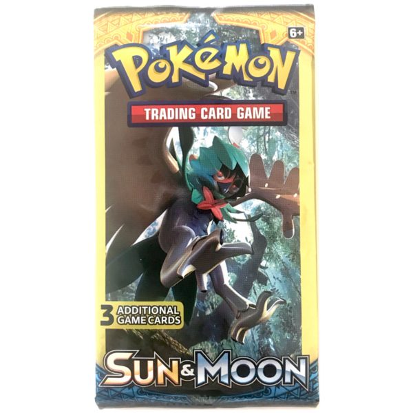 Pokemon kort 3-pack Booster