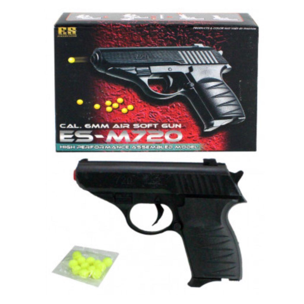 Pakkekalender, Soft gun pistol, ammunition