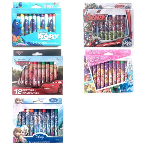 Disney Fedtfarver - Legetøj, Pakkekalender & små gaver