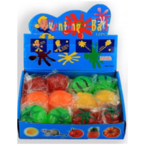Pakkekalender børn, legetøj, Splat ball / fruite