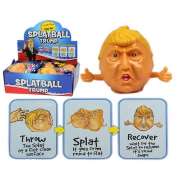 Trump Splat-ball - Legetøj, Pakkekalender børn og Små gaver