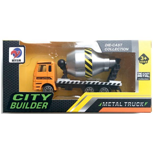 Lastbil i metal - Legetøj & pakkekalender