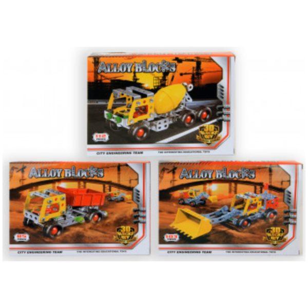 Lastbil Construction - Tilbud på legetøj & pakkekalender