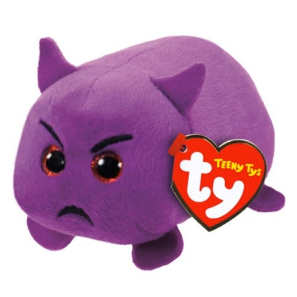 Teeny TY Teufel Emoji Beanie Bamse