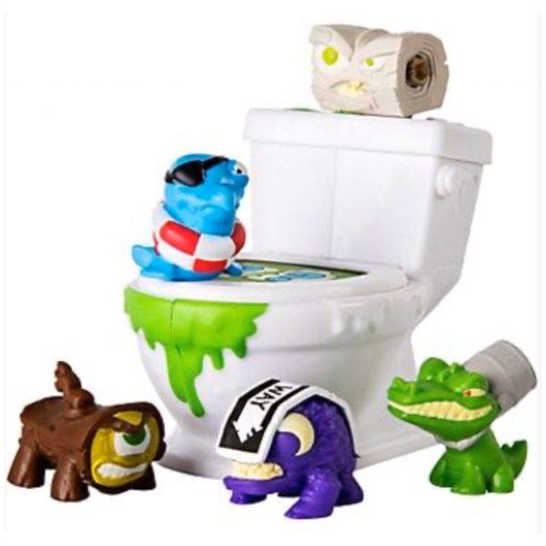 Flush Force Toilet - Legetøj, Pakkekalender