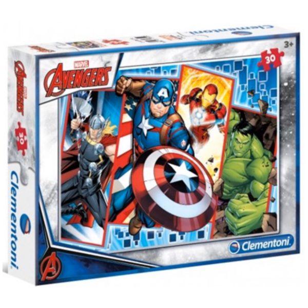 Avengers Puslespil 4 i 1 - Legetøj