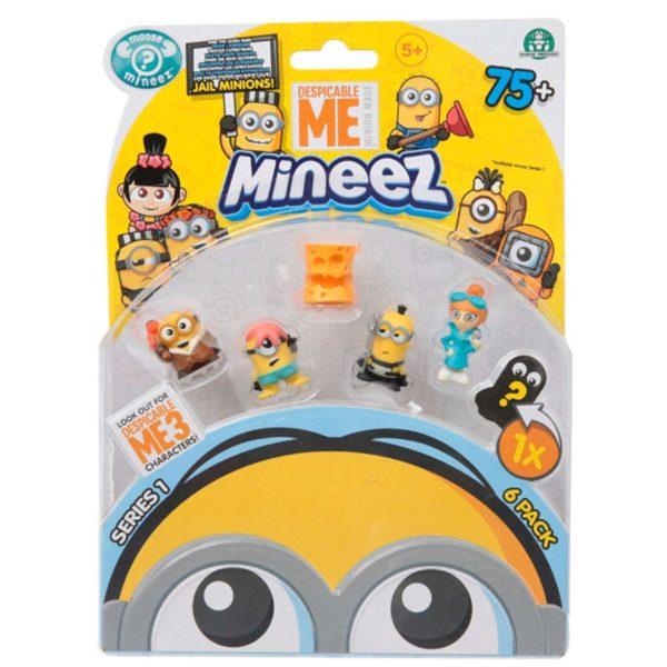 Minions 6-pack figurer - Legetøj / Pakkekalender