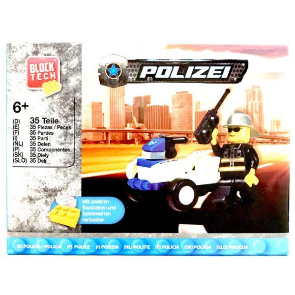 LEGO Politibil - Legetøj / Pakkekalender