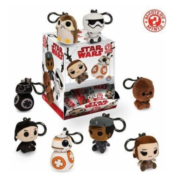Funko Mystery Mini Star Wars Plush CDU18