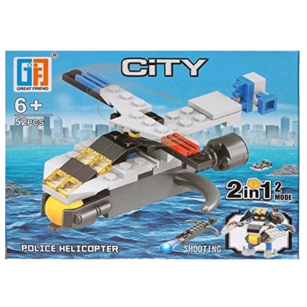 'LEGO' 2 i 1 Politiflyver / Robot