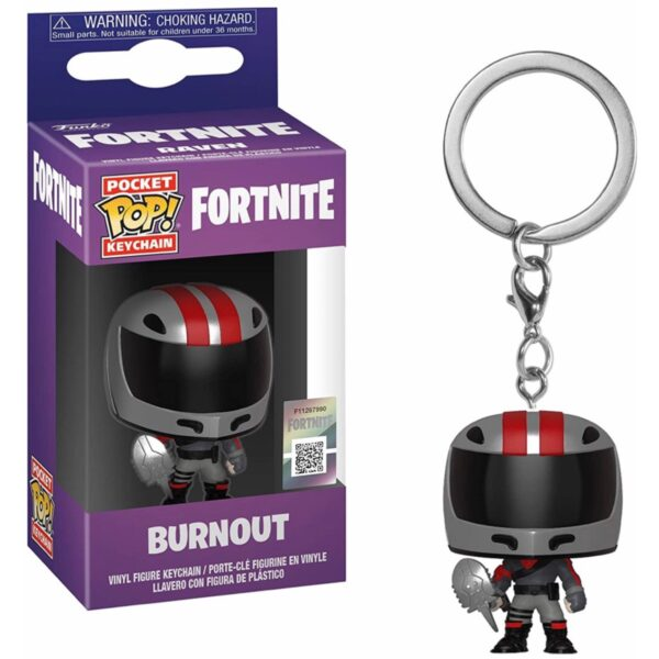 Fortnite Burnout - Pocket POP! Nøglering