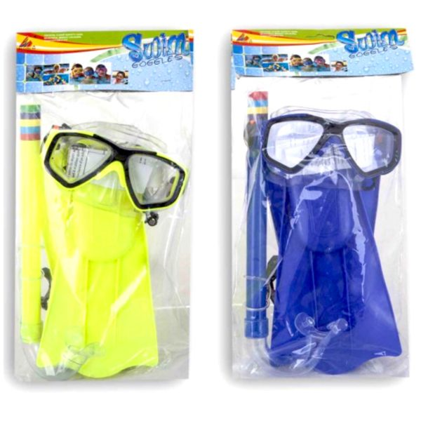 Dykkersæt Til Børn - Dykkerbriller, Snorkel mm