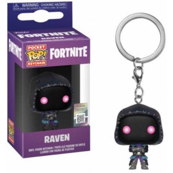 Fortnite Raven - Pocket POP! Nøglering