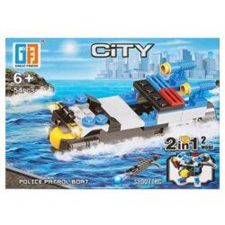 'LEGO' 2 i 1 Politibåd Robot