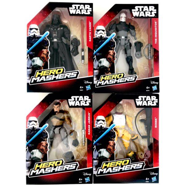 Star Wars Hero Mashers Figurer - Advents Pakke