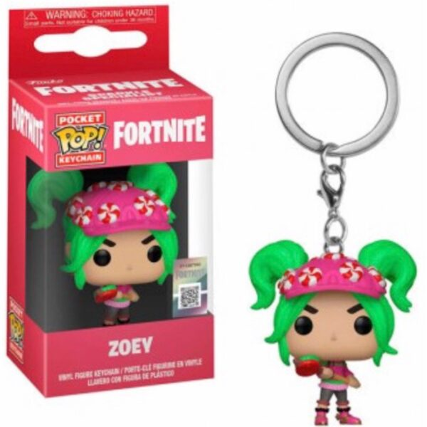 Fortnite Zoey - Pocket POP! Nøglering