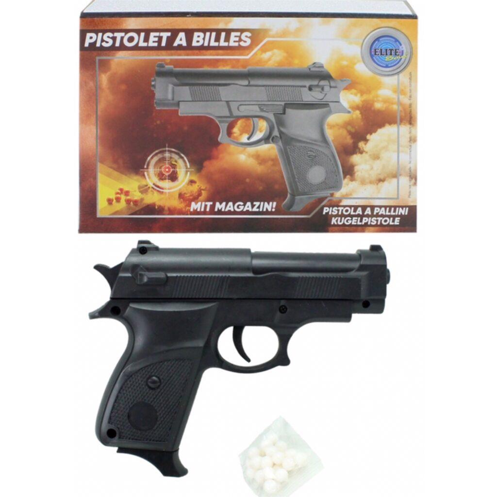 Softgun Pistol m. magasin - Legetøj