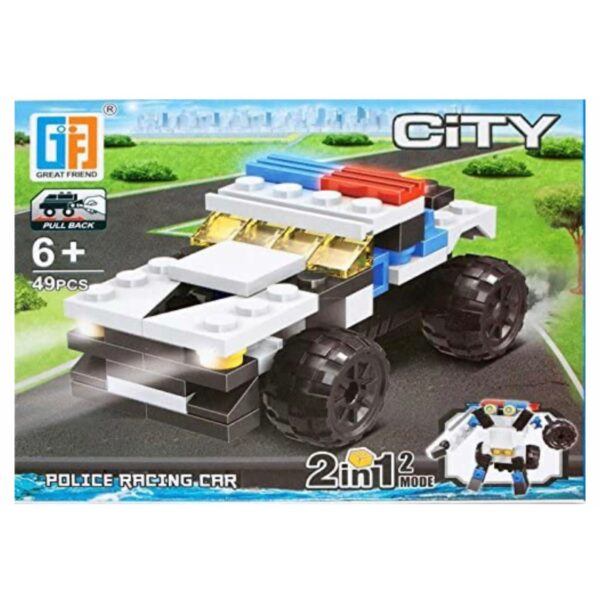'LEGO' 2 i 1 Politi-racer / Robot