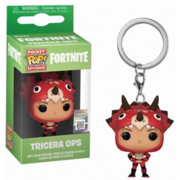 Fortnite Tricera Ops - Pocket POP! Nøglering