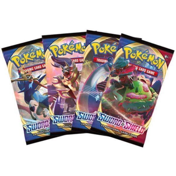 Sword & Shield Booster (10 kort) - Pokemon kort