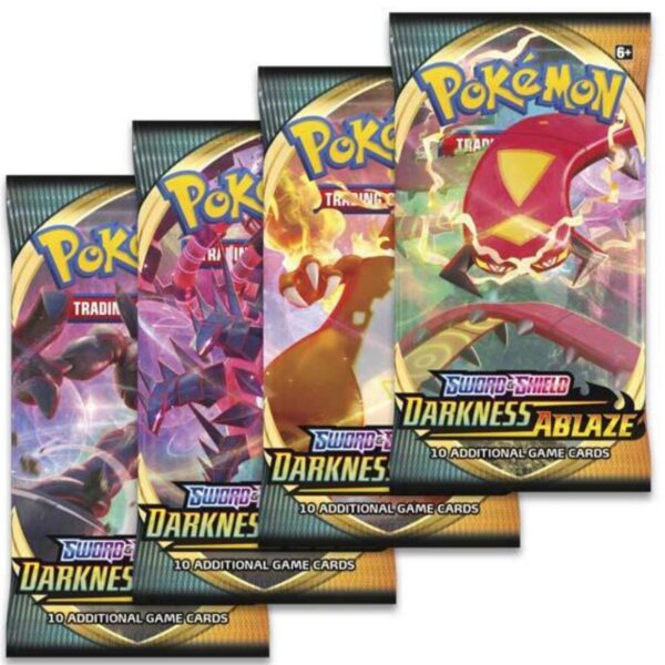 Darkness Ablaze Booster (10 kort) - Pokemon kort