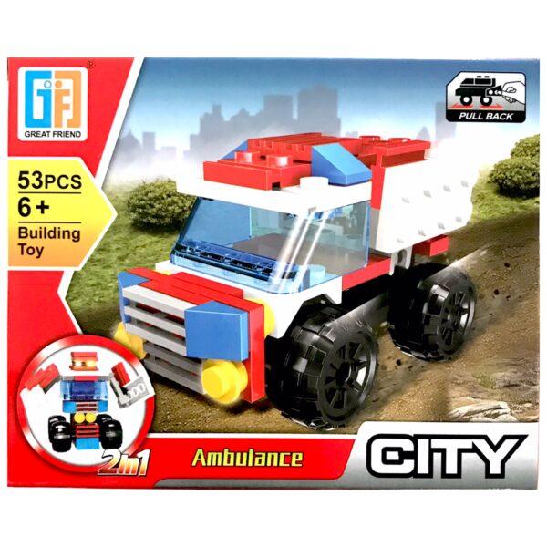 LEGO' 2 i 1 Ambulance / Robot