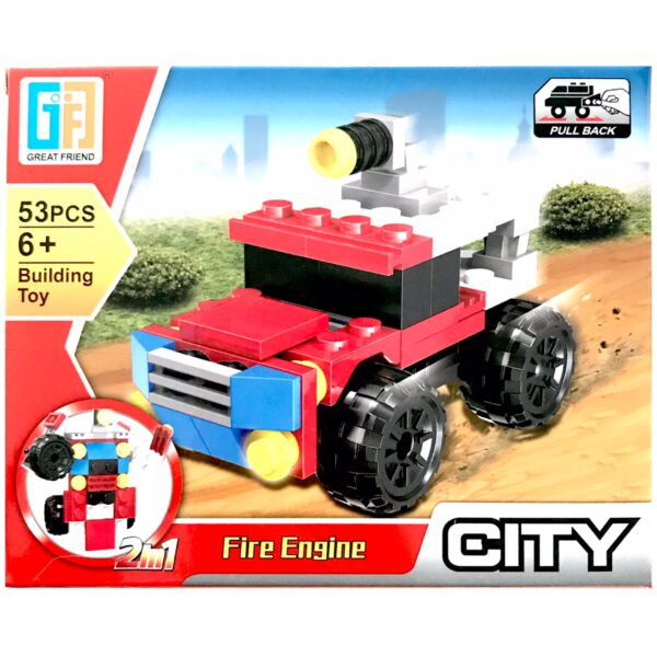 'LEGO' 2 i 1 Fire Engine / Robot