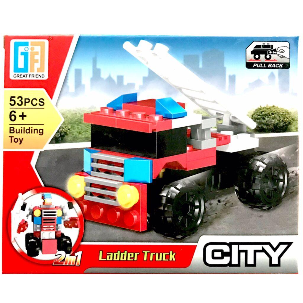 'LEGO' 2 i 1 Ladder Truck / Robot