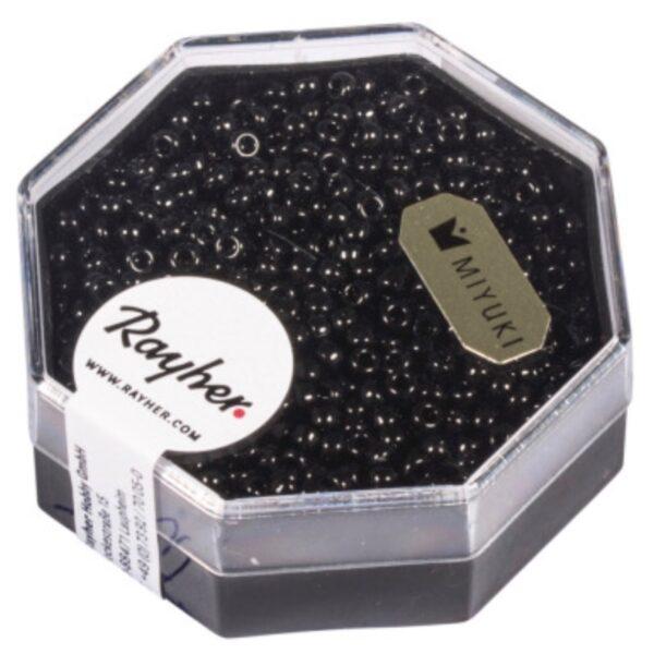 Premium Miyuki Perler - Acenit Grå (2.2mm)