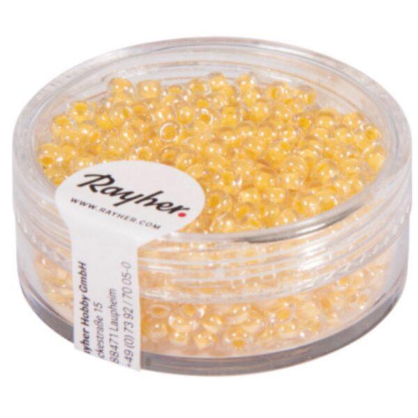 Rocailles Perler - Soft Yellow (2,6mm)