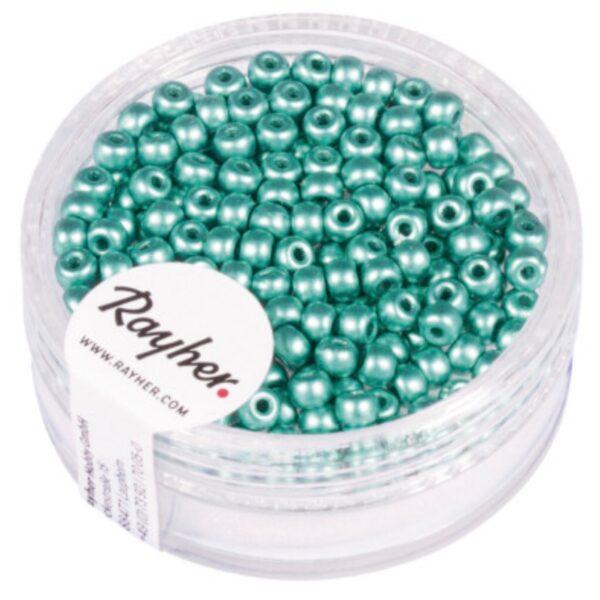 Rocailles Perler - Mat Mint (3mm)