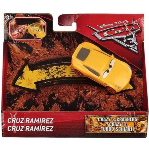 Cars 3 Crazy 8 Crasher Cruz Ramirez