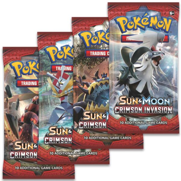 Crimson Invasion Booster - Pokemon kort