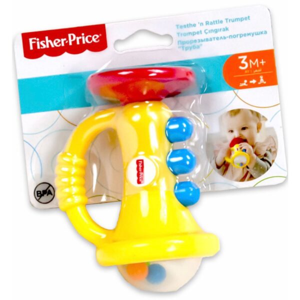 Fisher Price Teethe 'n Rattle | Minigaven