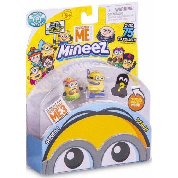 Minions 3-pack figurer   Minigaven