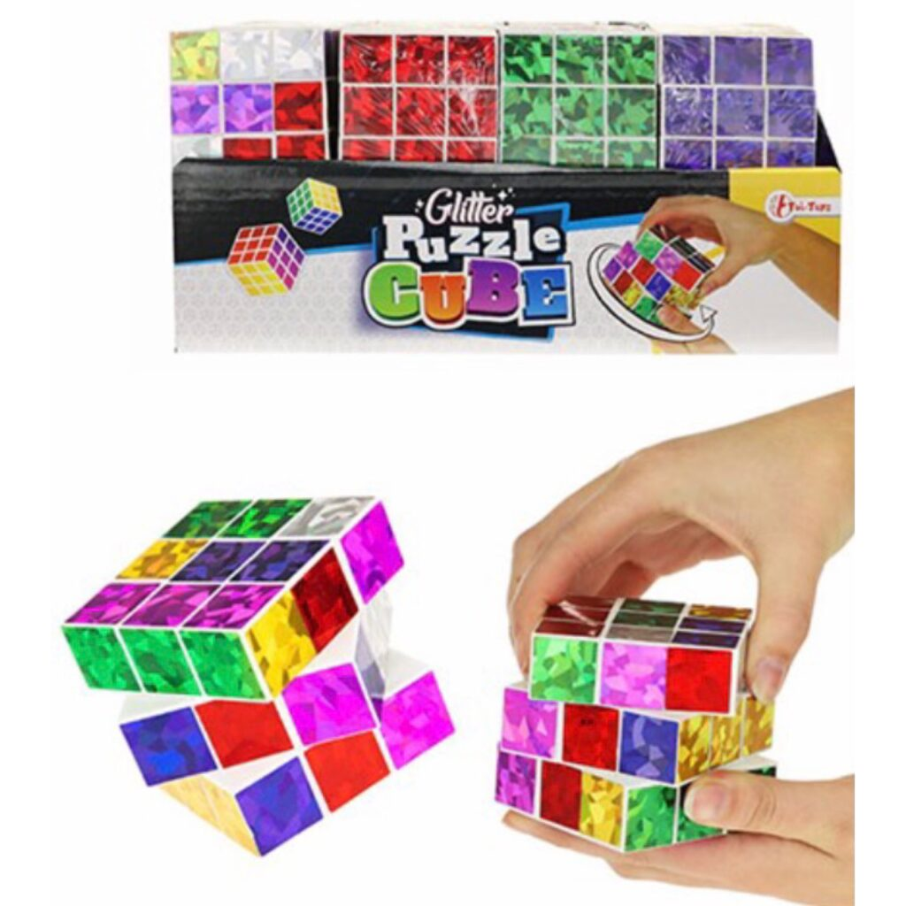 Glimmer Rubiks Cube Professor Terning - Fidget Toy