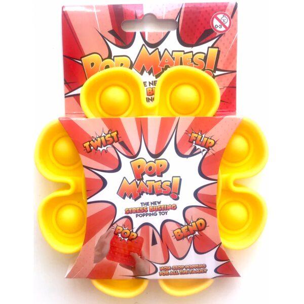 Pop It - Fidget Toy Gul II (Blomst)