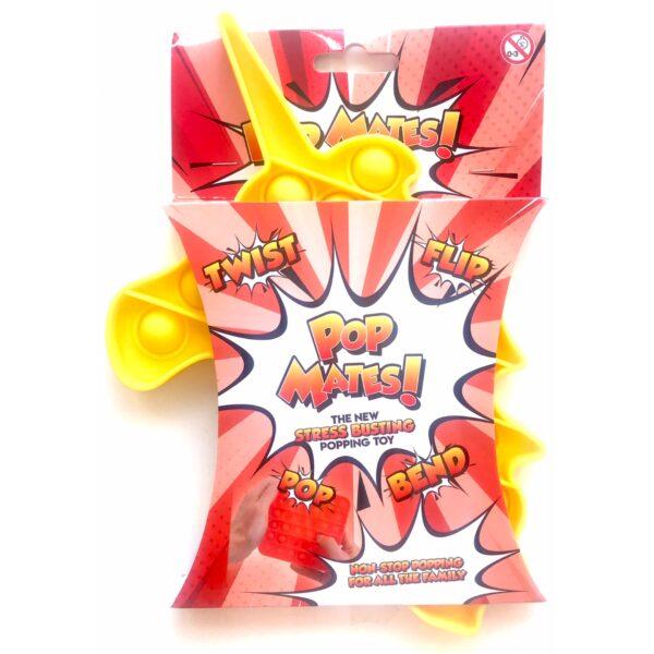 Pop It - Fidget Toy Gul II (Enhjørning)