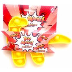 Pop It - Fidget Toy Gul II (Dino)