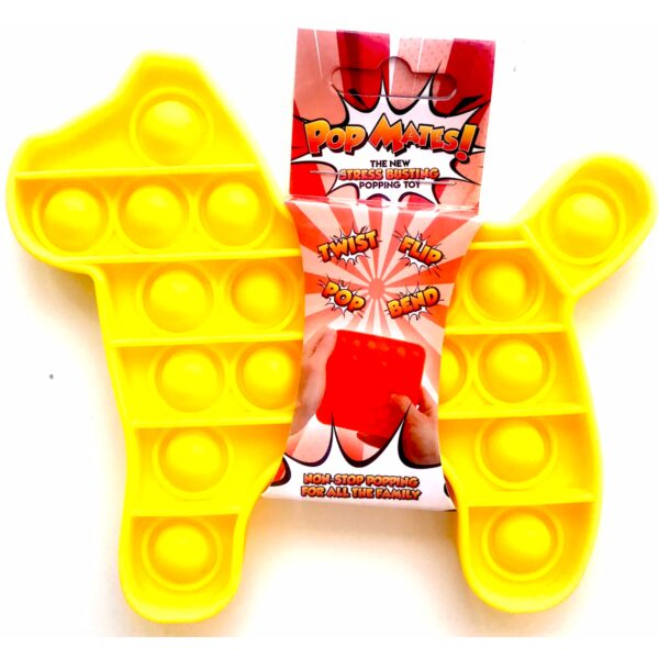Pop It - Fidget Toy Gul II (Hund)