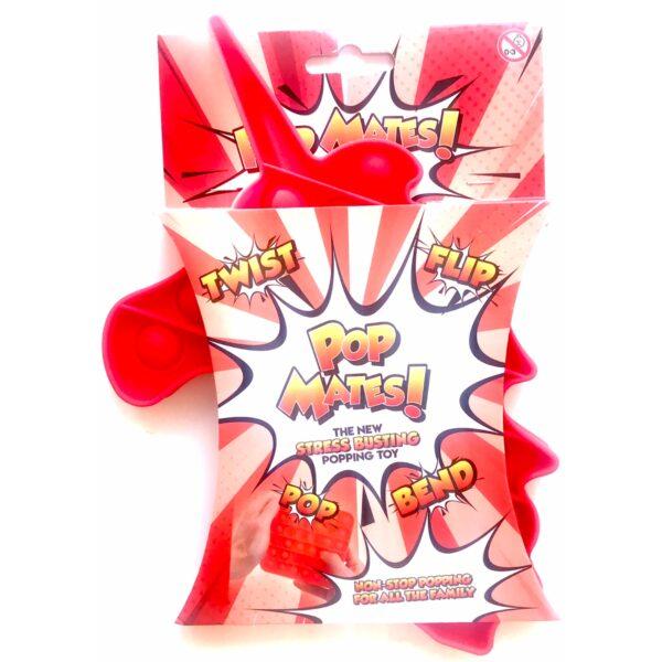 Pop It - Fidget Toy Rød II (Enhjørning)