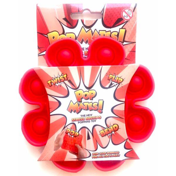 Pop It - Fidget Toy Rød II (Blomst)
