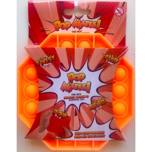 Pop It - Fidget Toy Orange II (Ottekant)