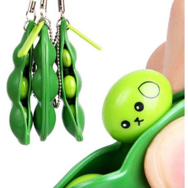 Grønne Bønner - Fidget Toy