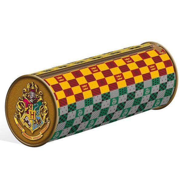 Harry Potter (House Crests) Barrel Pencil Case